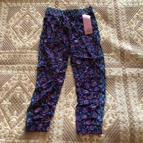 Летние штаны для девочки 5-6 лет, новые