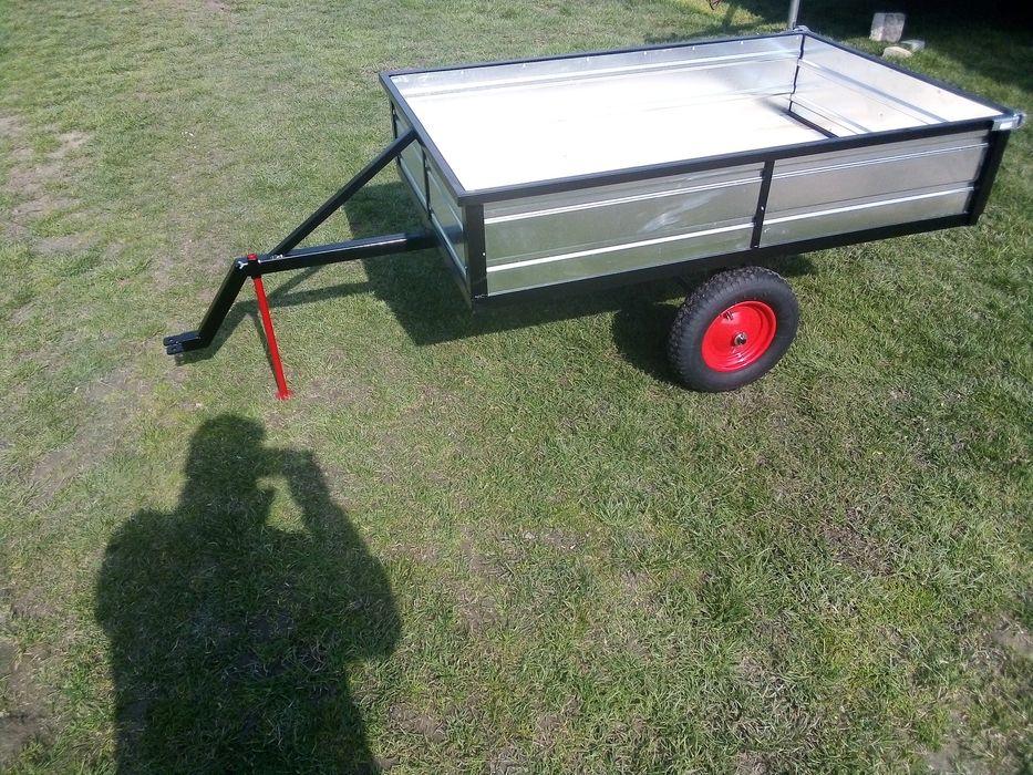 Przyczepka traktorek kosiarka quad Zamość - image 1