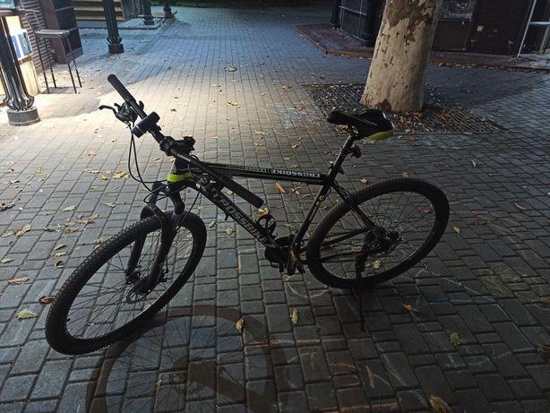 """Велосипед Croos Leader 29 """"21"""" black-neon yellow-white"""