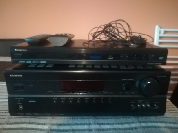 Amplituner onkyo tx-rs 307 i DVD Player DV-SP406