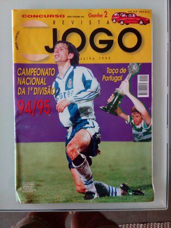 Revistas Jogo 94-5, 97/8 e 2000-1, FPF