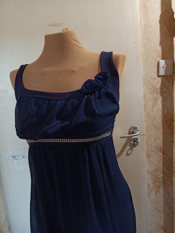 Granatowa sukienka rozmiar 38
