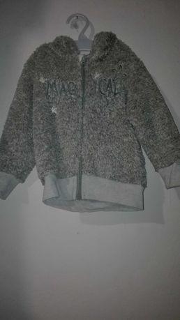 Bluza ciepla Lupilu sztuczne futerko 86/92