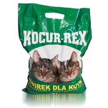 KOCUR REX żwirek dla kota zbrylający GRUBY 5L