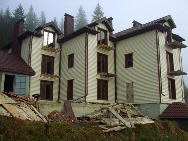 дом в Славском Львовской области (незавершенное строительство)