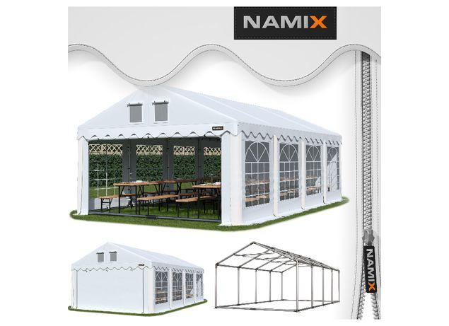 Namiot GRAND 4x8 ogrodowy imprezowy garaż wzmocniony PVC 560g/m2