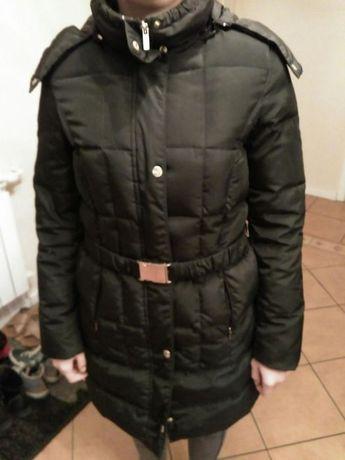 Kurtka zimowa czarna ZARA dziewczynka rozmiar 164