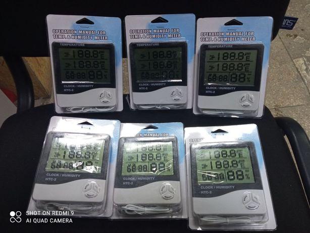 Термометр-гигрометр HTC-2 с выносным датчиком температуры