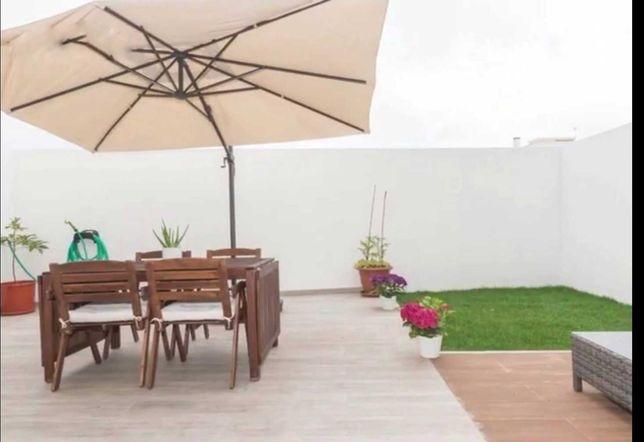 Mesa ikea de exterior/terraço/jardim +4 cadeiras