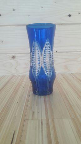 Красива ваза із синього скла 50-тих років