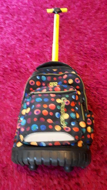 Tornister plecak szkolny coolpack swift na kółkach