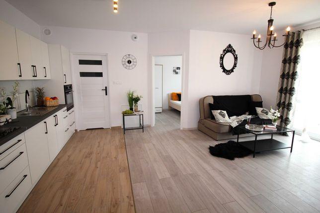 Nowe mieszkanie umeblowane 52 m2 3 pokoje Bora Komorowskiego Nowy blok