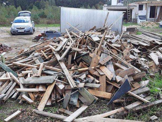 Sprzedam drewno na opał odpady drewniane