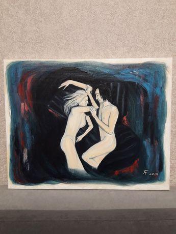 Картина маслом. 40×50. Холст с подрамником