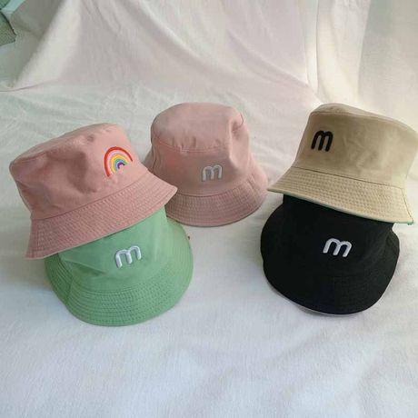 Панамка детская двухсторонняя 48-52 р шляпа кепка шапка панама бандана
