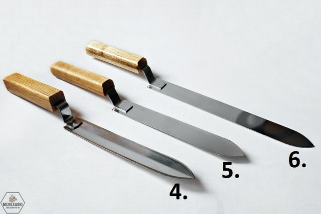 Nóż, Odsklepiacz ze Stali Nierdzewnej, Nóż do Odsklepiania Ramek