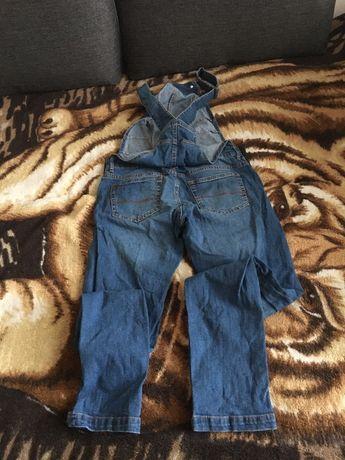 Sprzedam spodnie ciążowe ogrodniczki r.M