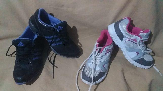 Кроссовки детские для девочки F&F-33/21,5; Adidas adiprene-37,5/23,5