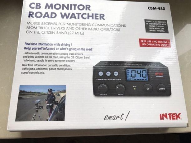 OKAZJA! NOWY zestaw CB, odbiornik CB tylko nasłuch marki Intek -50%!