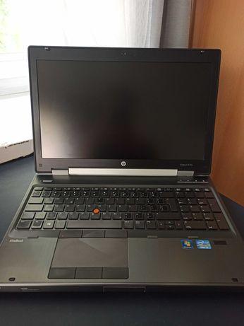 HP EliteBook 8570w i5 2,8 GHz, 8 GB RAM, 256 GB SSD