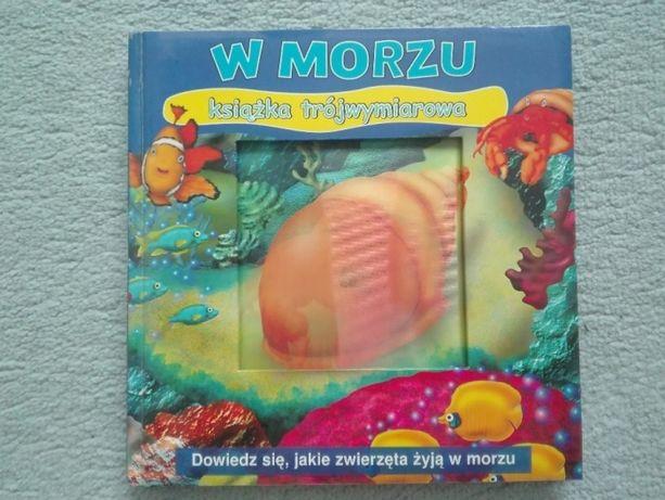 książeczka 3D morze