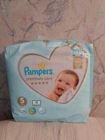 Продам детские памперсы (5).Без торга, так как цена снижена максимальн