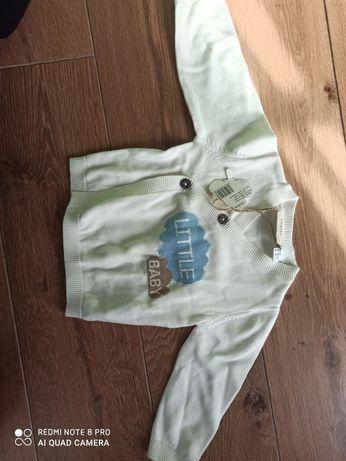 Sweterek dla chłopca lildl lupilu
