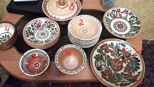 Продам глиняную посуду(комплект)