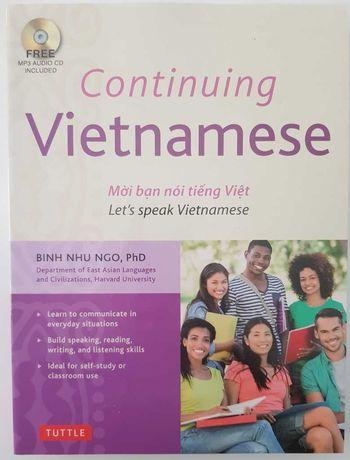 Continuing Vietnamese - Binh Nhu Ngo (książka + CD) NOWA z f-VAT