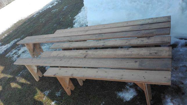 Ławki ogrodowe, ławka, ławka biesiadna