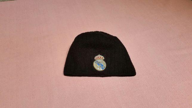 Czapka czarna Real Madrid