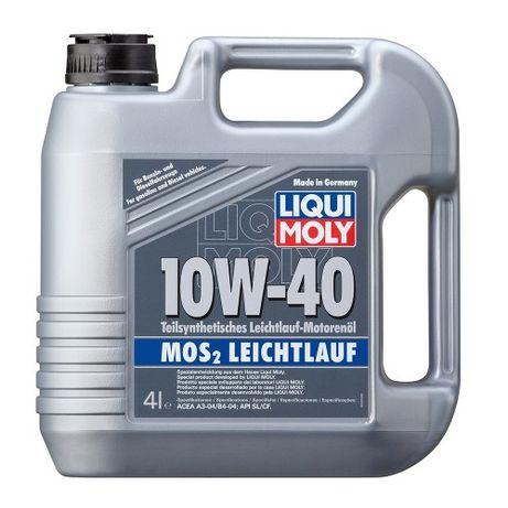 Liqui Moly МoS2 Leichtlauf 10W-40, 4л. Масла