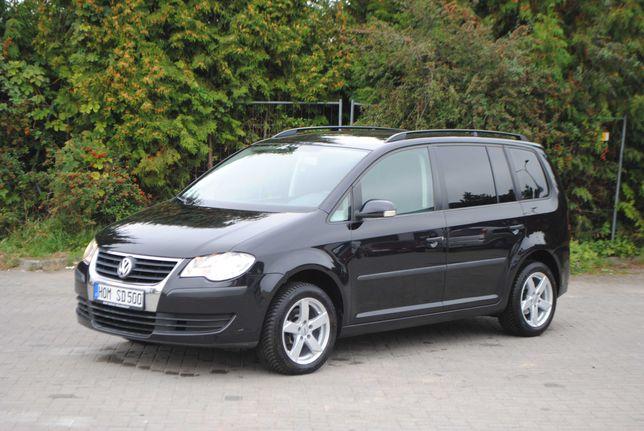 VW Touran*Lift*16 Alufelgi*1.9 TDI*Klima*Czarny*Niemiec*Super Stan!