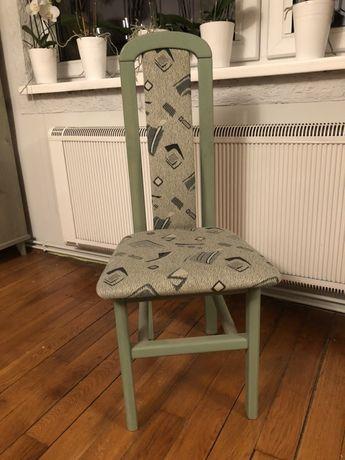 Krzesło lub krzesła drewniane komplet 5 sztuk