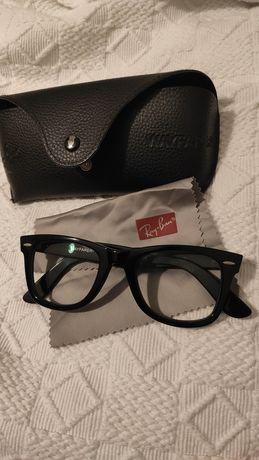 Óculos Wayfarer 50-22, 5121 Miopia Original Rayban Ray-ban de descanso
