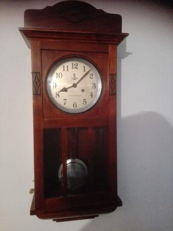 stary zegar wiszący Gustav Becker po renowacji z gwarancją