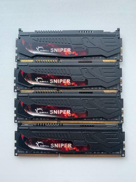 Память G.Skill 8 GB 2*(2x4GB) DDR3 2133 MHz (F3-2133C10Q-16GSR)