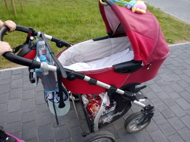 Wózek x Lander spacerówka i gondola