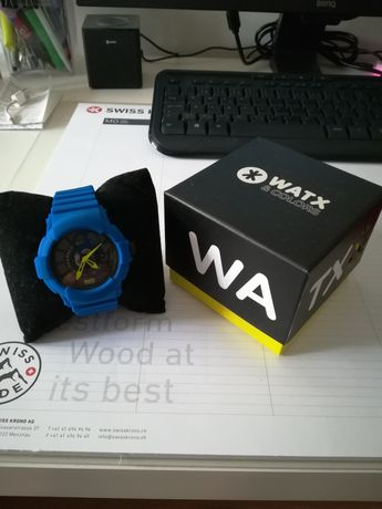 Relógio Watx & Colors Azul