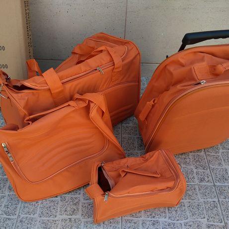 Conjunto de 4 malas