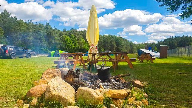Camp-KAJAKOWO Pole Biwakowe zapraszamy na sezon 2021 Wakacje Noclegi