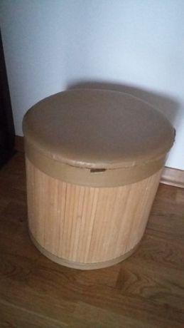 Pufa bambusowa otwierana