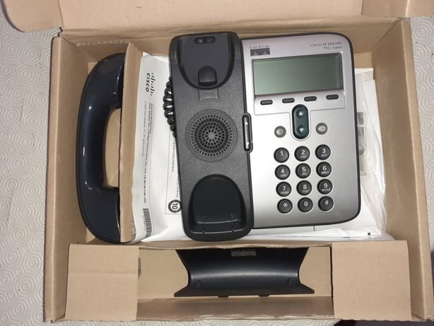 Telefone Cisco IP Phone 7912 (novo)