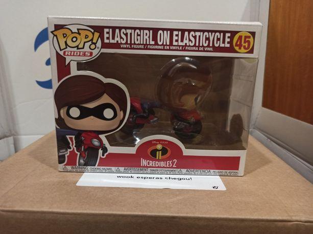 Funko POP! Rides Elastigirl on elasticycle