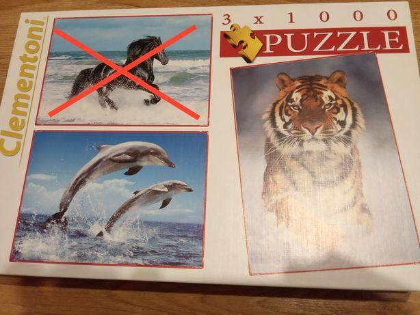 Puzzle 2*1000 - zwierzęta