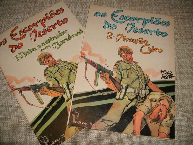 BD Banda Desenhada 2 volumes Os Escorpiões do Deserto
