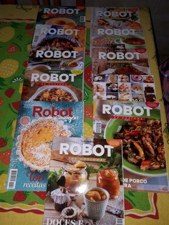 Revistas robot de cozinha
