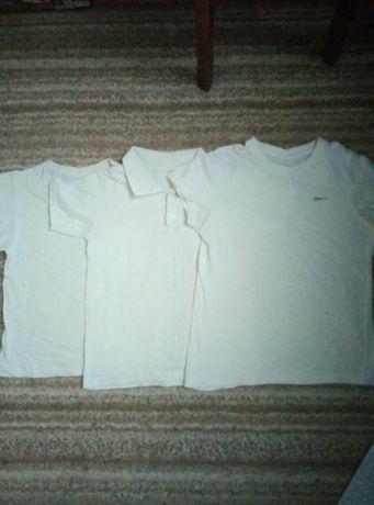 Тениска, 2 футболки, майка новая , реглан белый