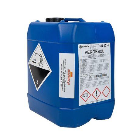Perkosol 25kg Płyn do sanityzacji wody Usuwa biofilm w liniach pojenia