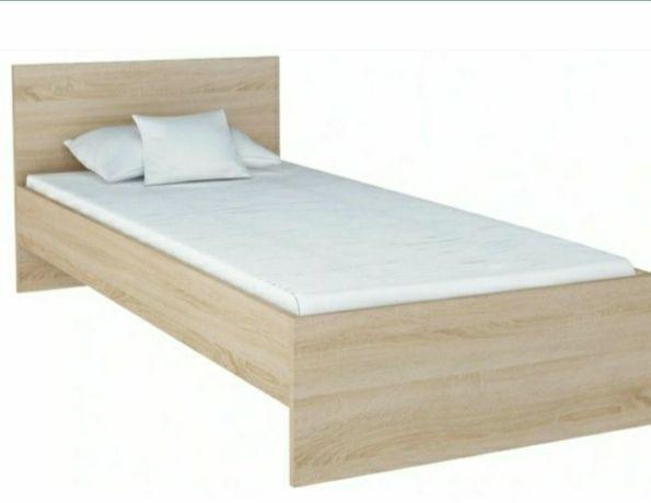 Łóżko 90x200 cm kolor sonoma
